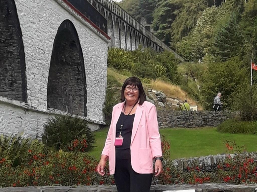 Jane Hodson, Registered Manx Tour Guide